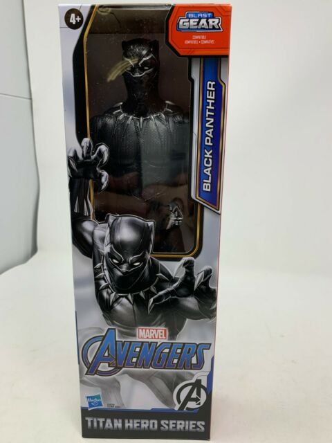 Marvel Titan Hero Series 12-inch Black Panther Figure NEW SEALED