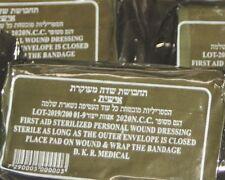 "6 Vacuum Sealed Israeli Army Combat Medic Trauma Bandage 4"" IDF IFAK EMT field"