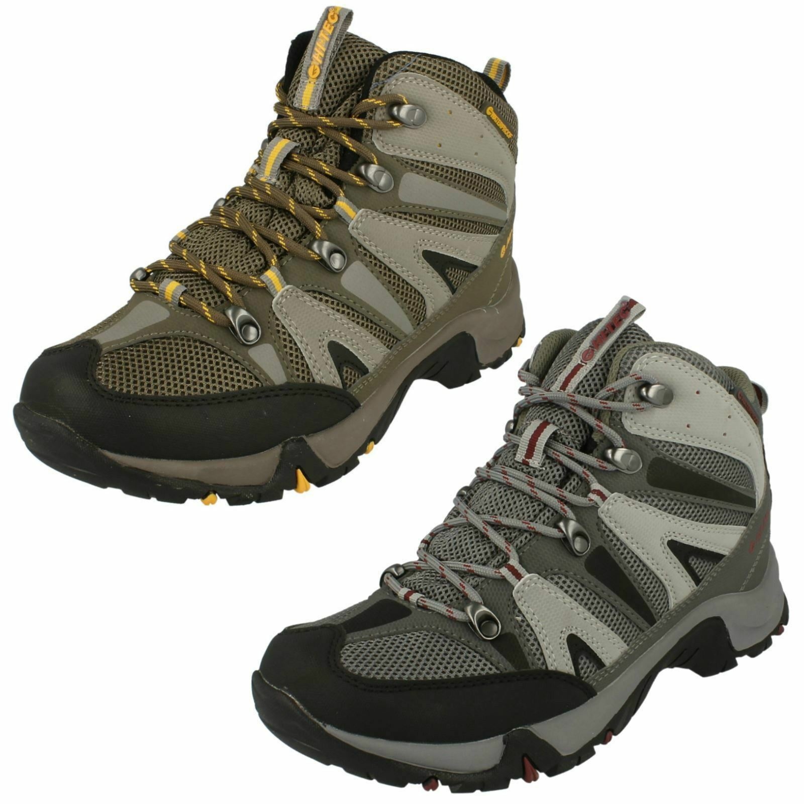 Mens Hi-Tec Casual Waterproof Lace Up Hiking Boots - Condor