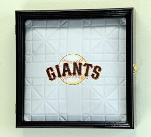Full Size Mlb Baseball Base Plate Display Case Cabinet Shadowbox