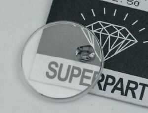 REPLACEMENT SAPPHIRE CRYSTAL GLASS FOR ROLEX PARABOLIC WATCH 25.295c DATE LENS