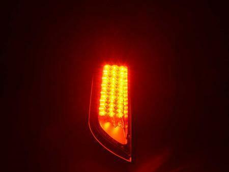 FORD FOCUS MK2 09//2004-10//2007 BLACK LED REAR TAIL BACK LIGHTS