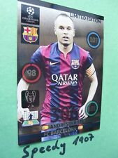 Champions League 2015 Limited Edition Iniesta Panini Adrenalyn 14 15