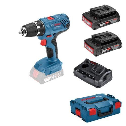 2x 2,0ah batteries gax 18v-30 Bosch Batterie-Visseuse GSR 18v-21 L-Boxx