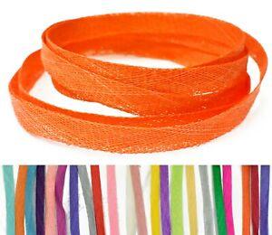 LONG-SINAMAY-Strip-10mm-Width-1-6m-Fascinator-Hat-Making-Millinery-Trimming-bias