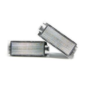 2-X-Illuminazione-Targa-LED-Renault-Riconoscimento-Lampada-Lampadina-Moduli