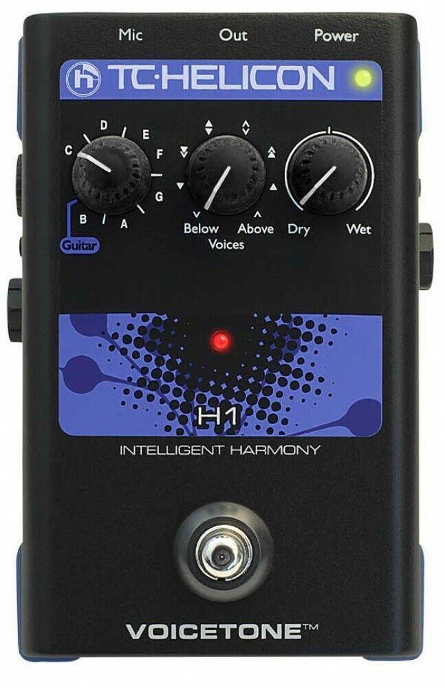 TC Helicon Voicetone H1 Kompakt Gesang Effekte Prozessor von Japan mit Abtastung