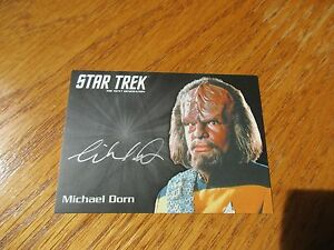 Star-Trek-TNG-Portfolio-Prints-Series-2-Michael-Dorn-as-Worf-Silver-Autograph