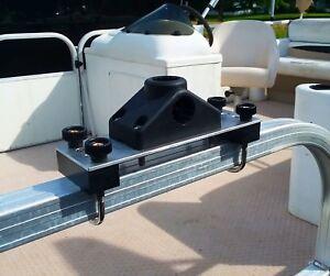 Details About 2 Pack Rod Holder Boat Brackets For Pontoon Boat New Design