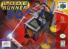 Lode Runner 3-D N64 Great Condition Fast Shipping