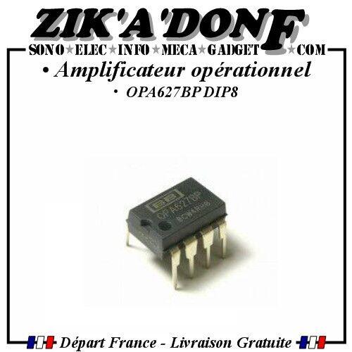 CI OPA627BP Amplificateur opérationnel DIP8 Audio, BURR BROWN