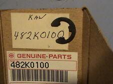 #CG NOS Kawasaki foot peg circlip c clip 482k0100 KD KX ZX VN 125 250 500 750 7