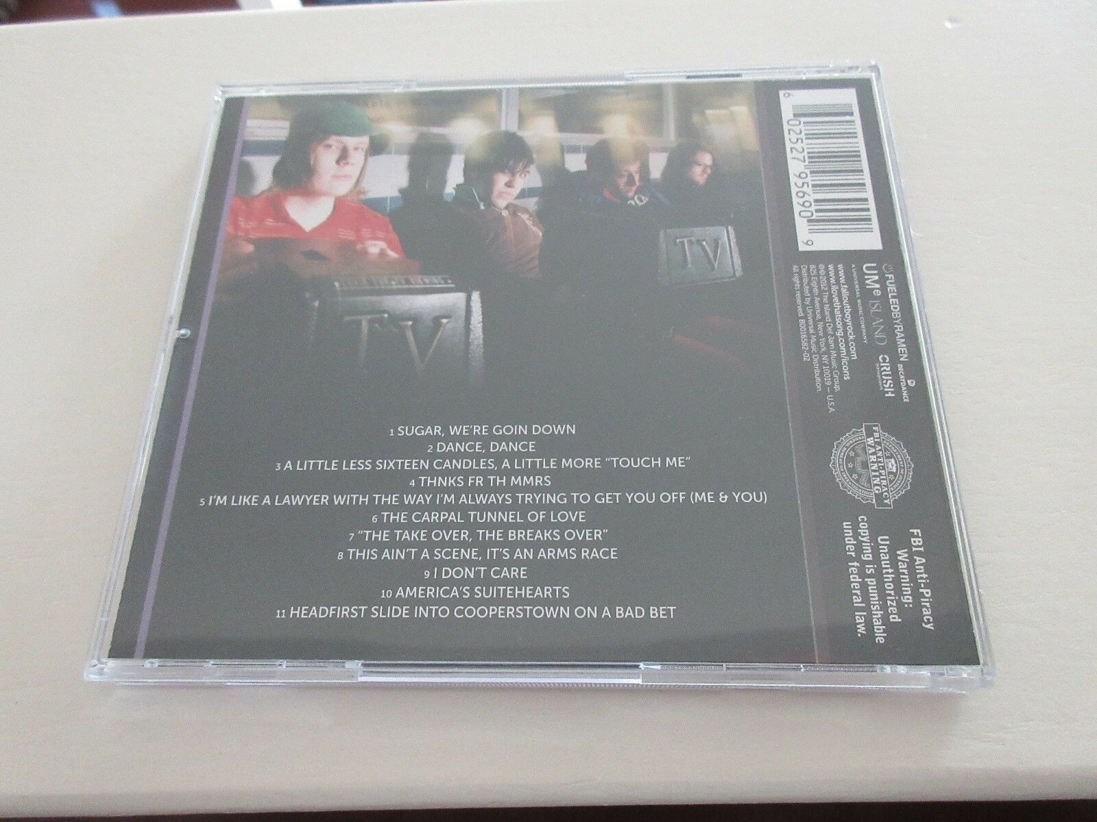 Fall Out Boy , ICON , CD 696555111621
