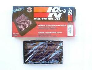 K/&N Panel Air Filter ref Ryco A478 FOR BMW 3 SERIES E30 33-2059