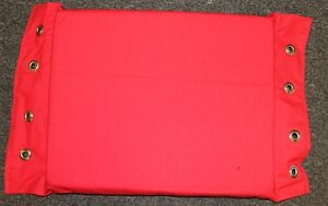 Details about Red Canvas Turnbuckle Pads, Wrestling Boxing MMA UFC Canvas  WWE TNA WWF