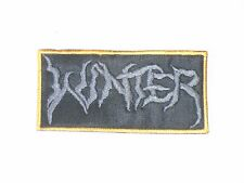 WINTER DOOM/DEATH METAL EMBROIDERED PATCH