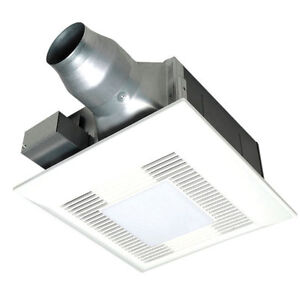 Panasonic Whisperfit Ez 110cfm Bathroom Exhaust Fan Ceiling Mount 3 Ebay