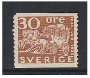 Sweden - 1936, 30 ore Swedish Post - M/m - SG 193