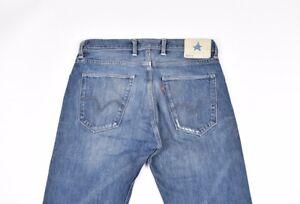 Levis-Blu-Uomo-Jeans-Taglia-32-34-Originale