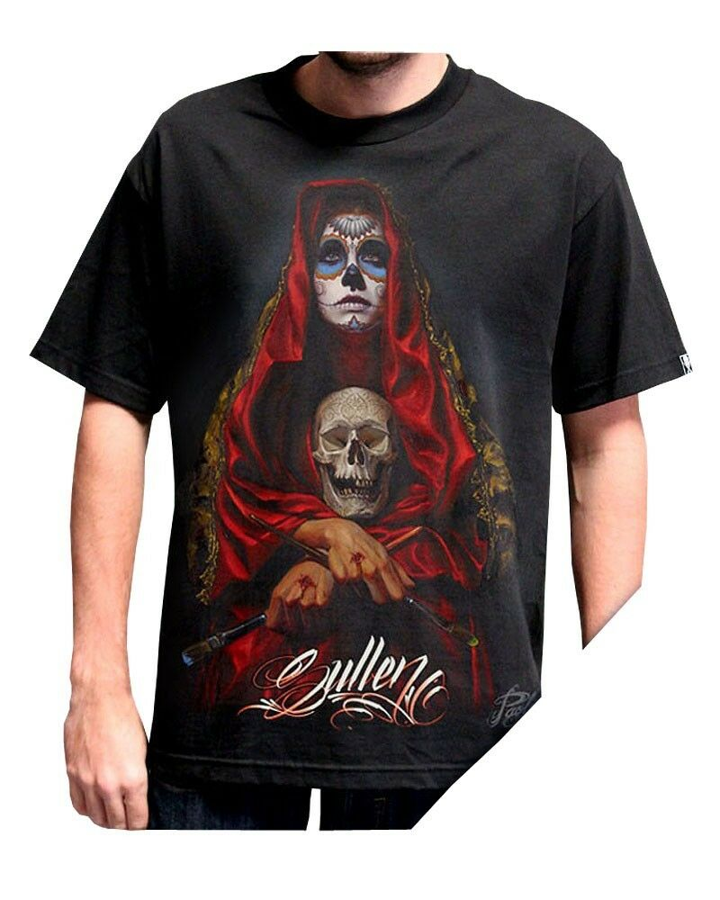 115f7b5031090c Sullen Acuna T Shirt Top Ink Art Totenkopf Gr. S - 3XL Tattoo Badge ...