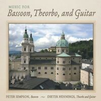 Dieter Hennings, Pet - Music For Bassoon Theorbo & Guitar [new Cd]