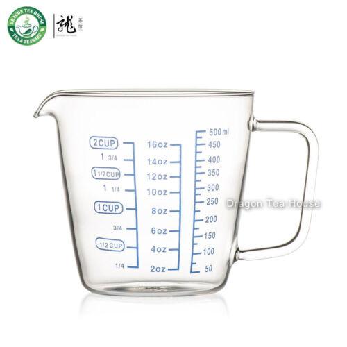 environ 453.58 g Sans Plomb Verre Transparent Tasse à Mesurer trois Scales 2-Cup 16 oz 500 ml