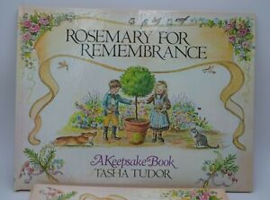 Tasha-Tudor-Rosemary-For-Rememberance-Book-1st-Edition-with-Slip-Case