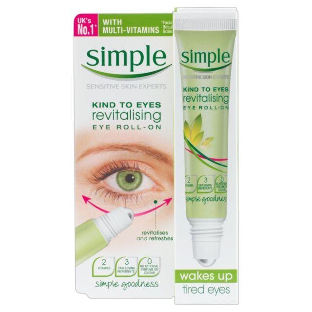 Simple Kind to Eyes Revitalising Eye Roll-On 15ml