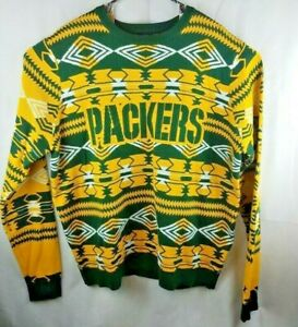 release date: 816bd e2114 Details about NFL Team Apparel Mens Size XXL Green Bay Packers Sweater