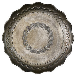 GreenGate-Dk-Round-Wooden-Tray-in-Jenny-Silver