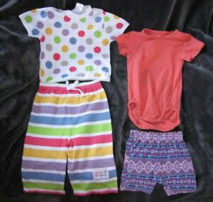 Baby Girl Spring Summer Clothes Bundle Baby Aspen Lollipop Loungewear 3 6 Ebay
