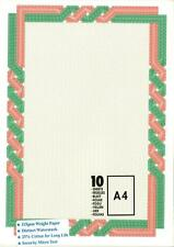 Decadry DSD10-1057 Premium 115gsm Certificate Diploma with Watermark 25% Cotton