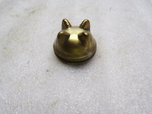 Details about Vintage Brake Master Cylinder Brass Fill Cap Wagner Bendix  Ford Chevy 1-15/16
