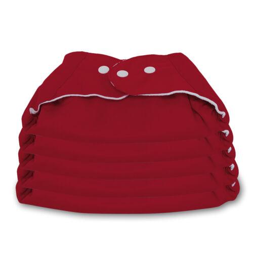 5 x Windeln Babywindeln Windelüberhosen Stoffwindeln Waschbar mit// ohne Einlagen