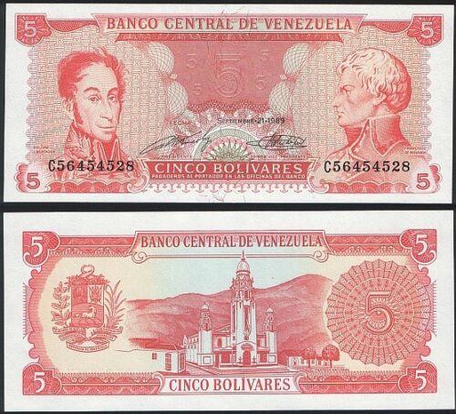 Venezuela 5000 Bolivares 16-6-1997 Pick 78.b UNC Uncirculated Banknote Serie B