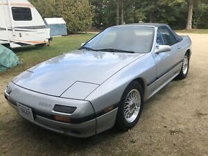 1988 RX7 CONVERTIBLE 59965kms