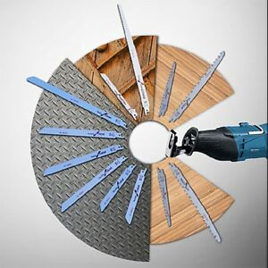 Stainless Steel 300mm Reciprocating Power Saw Blade Fine Tooth Effective Cutting