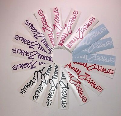 Street2Track Stickers