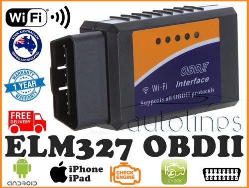 ELM327 OBDII OBD2 WiFi Car Diagnostic Scanner Tool iPhone Android Fits SUZUKI