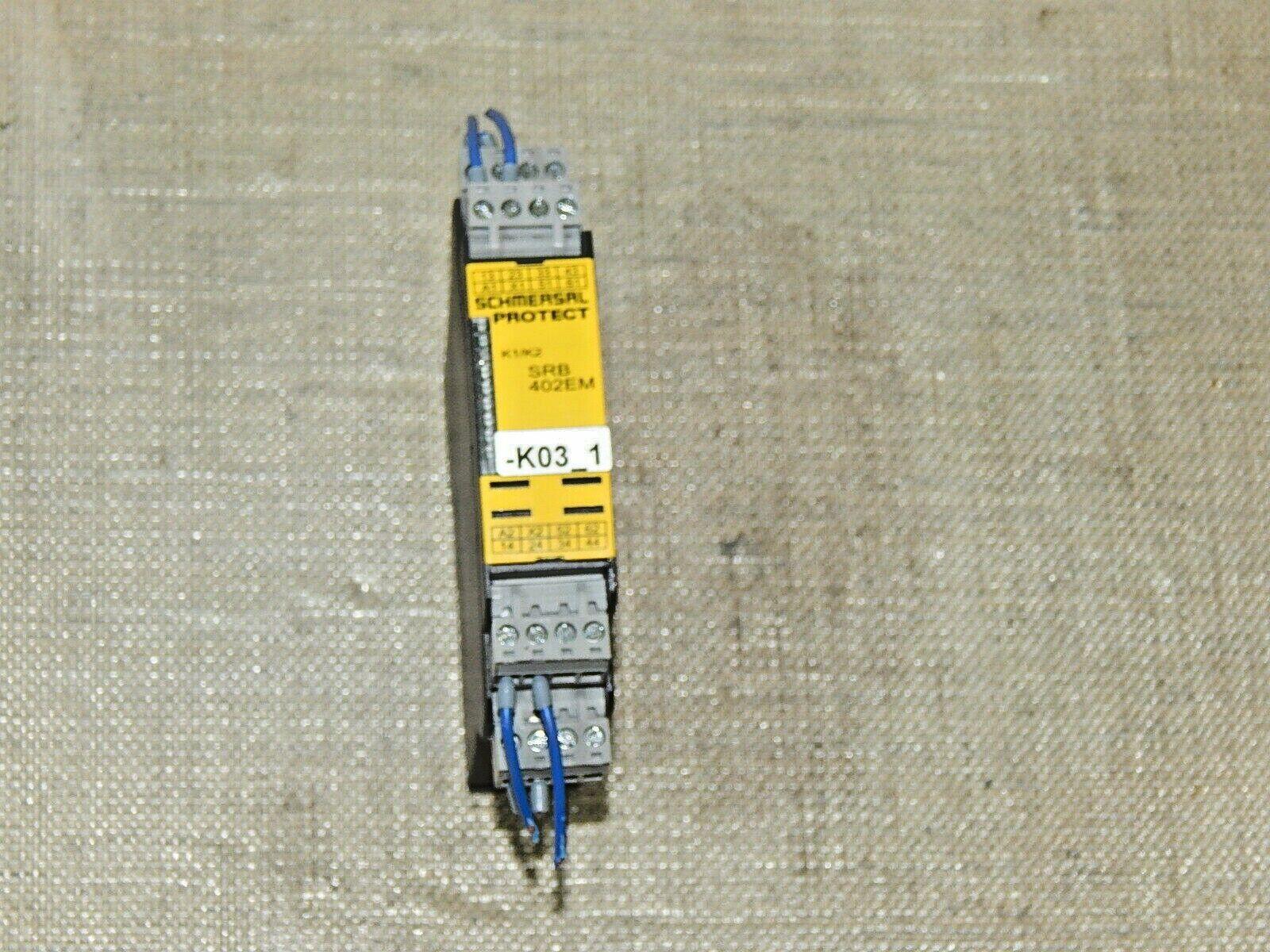 Schmersal Sicherheitsrelais Ausgangserweiterung SRB402EM Used