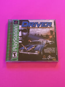 🔥 PS1 PlayStation 1 PSX GAME 💯 COMPLETE WORKING GAME 🔥 DRIVER 🔥
