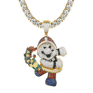 Cartoon character snatching money pendant 14k gold finish simulated image is loading cartoon character snatching money pendant 14k gold finish aloadofball Images