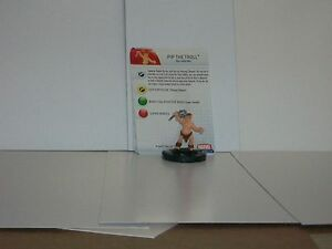 hammer of thor 6 pip the troll heroclix piece ebay