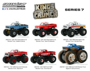 Pre-Order Greenlight Kings of Crunch Series 7 Texas Tumbleweed 1972 Chevy C-10