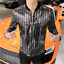 Hot-Mens-Shiny-Sequins-Casual-Nightclub-Singer-Jacket-Slim-Fit-Plus-Size-Coat thumbnail 8