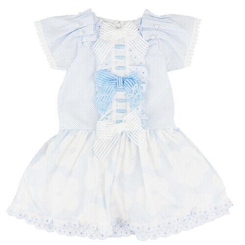 Little Darlings bleu et blanc robe d/'été 4 ans 1 derniers 281