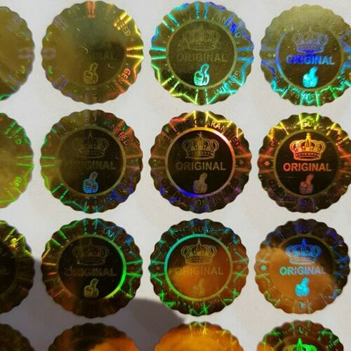 Hologramm Etiketten Aufkleber Warranty Void ob Entfernt Manipulations Sicher