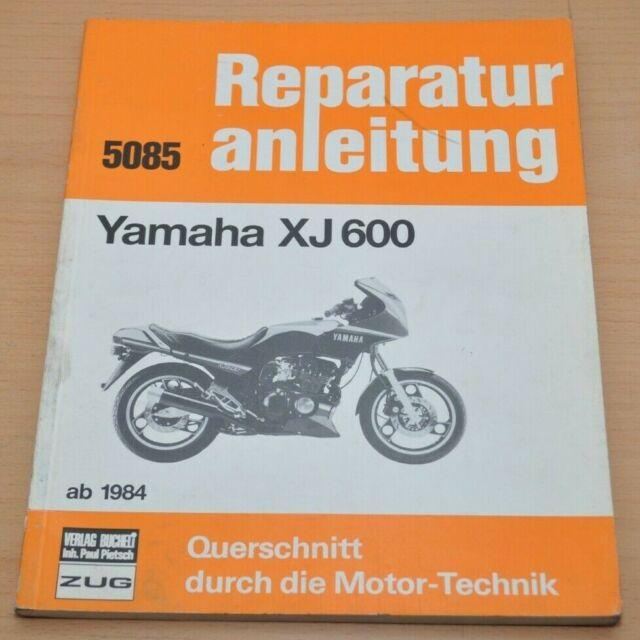 Yamaha Xj 600 51j Schaltplan