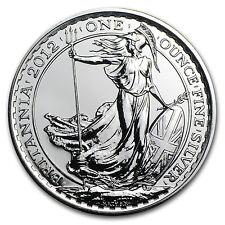 2012 1 oz Silver Britannia Coin