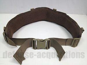 Eagle Industries Padded War Belt Molle Battle Belt Coyote Brown
